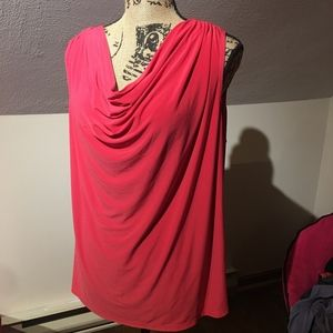 Pink blouse tank top